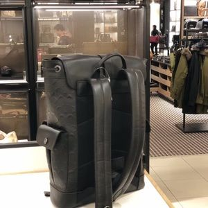 Coach Bags - Coach Hudson Backpack In Signature Leather Black